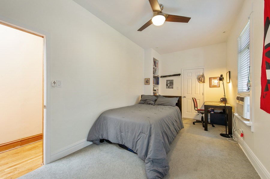 Real Estate Photography - 2039 W Cullom, Chicago, IL, 60618 - 3rd Bedroom