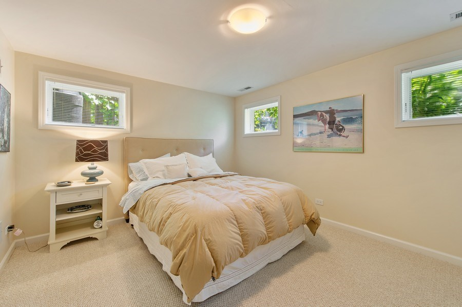 Real Estate Photography - 2039 W Cullom, Chicago, IL, 60618 - 4th Bedroom