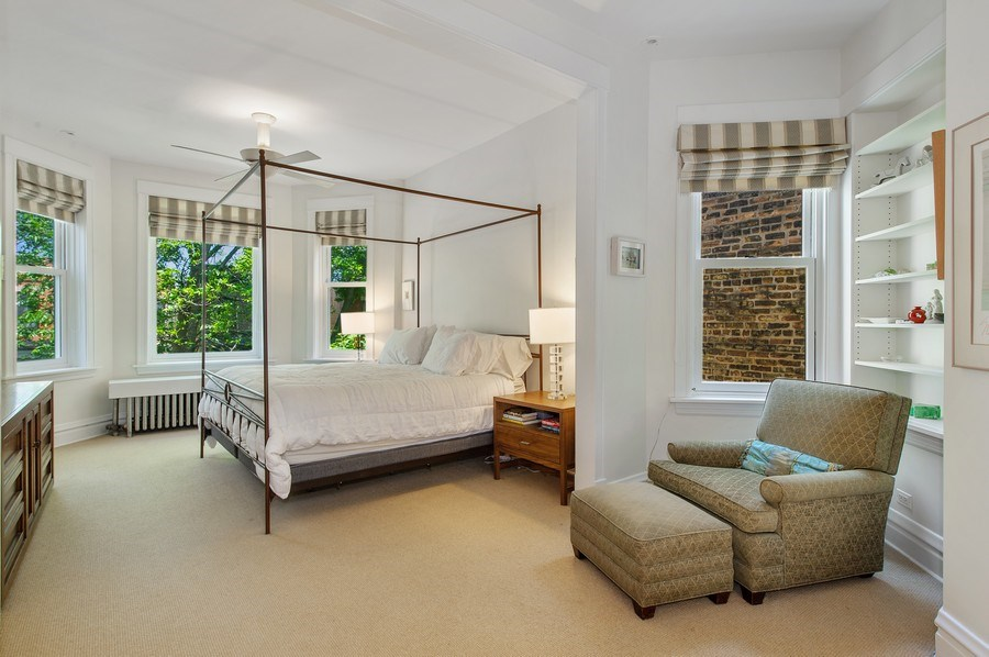Real Estate Photography - 2039 W Cullom, Chicago, IL, 60618 - Master Bedroom