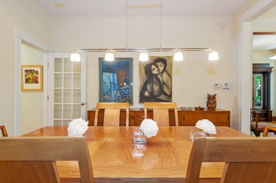 Real Estate Photography - 2039 W Cullom, Chicago, IL, 60618 - Dining Room
