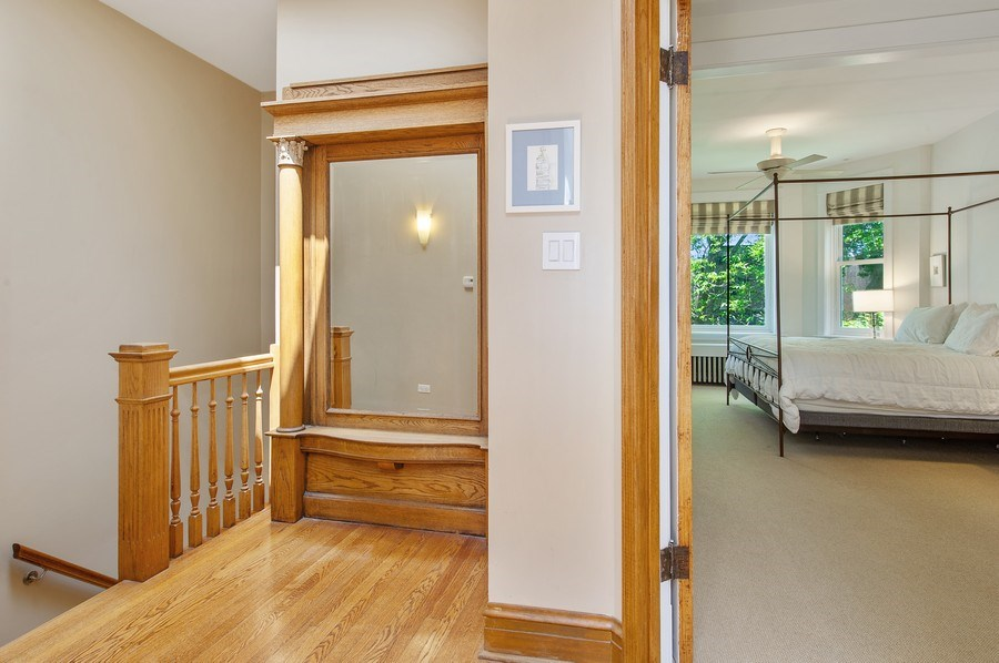 Real Estate Photography - 2039 W Cullom, Chicago, IL, 60618 - Hallway