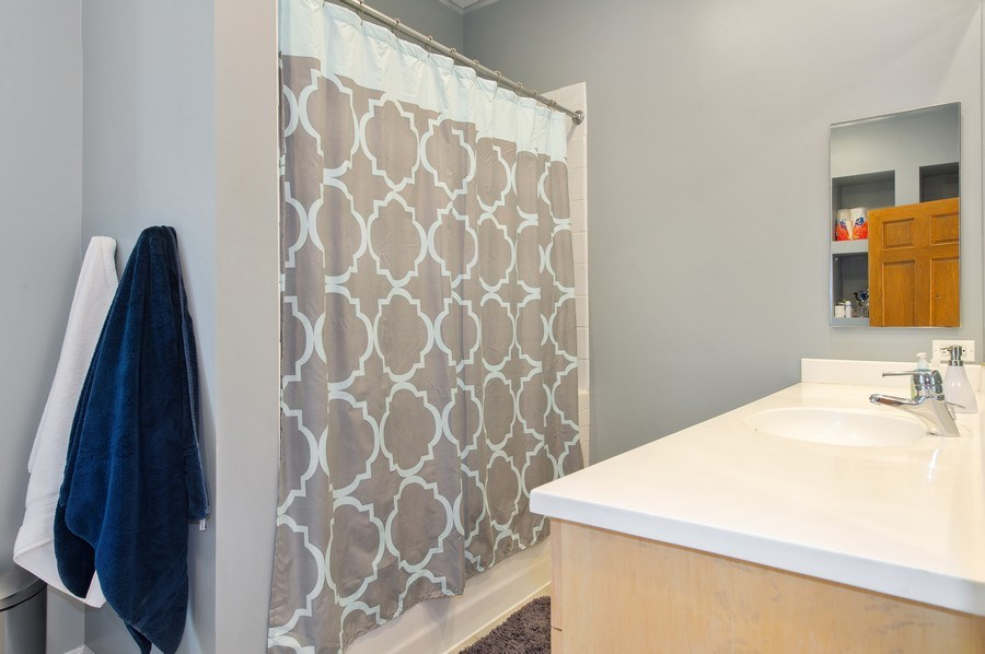 Real Estate Photography - 2039 W Cullom, Chicago, IL, 60618 - 2nd Bathroom