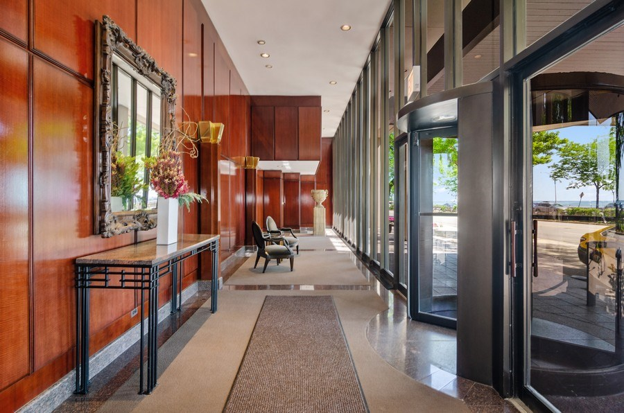 Real Estate Photography - 1240 N Lake Shore Drive, Unit 9B, Chicago, IL, 60610 - Lobby