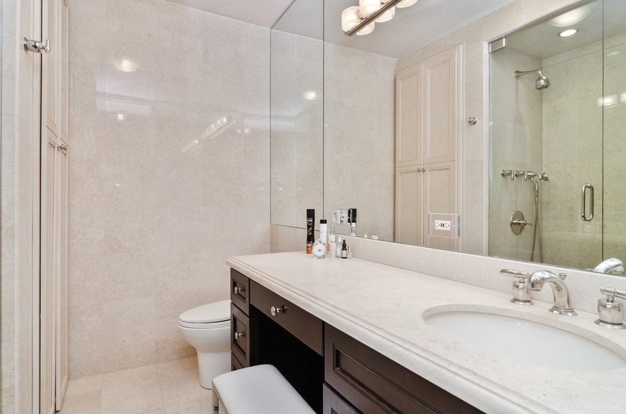 Real Estate Photography - 1240 N Lake Shore Drive, Unit 9B, Chicago, IL, 60610 - Master Bathroom