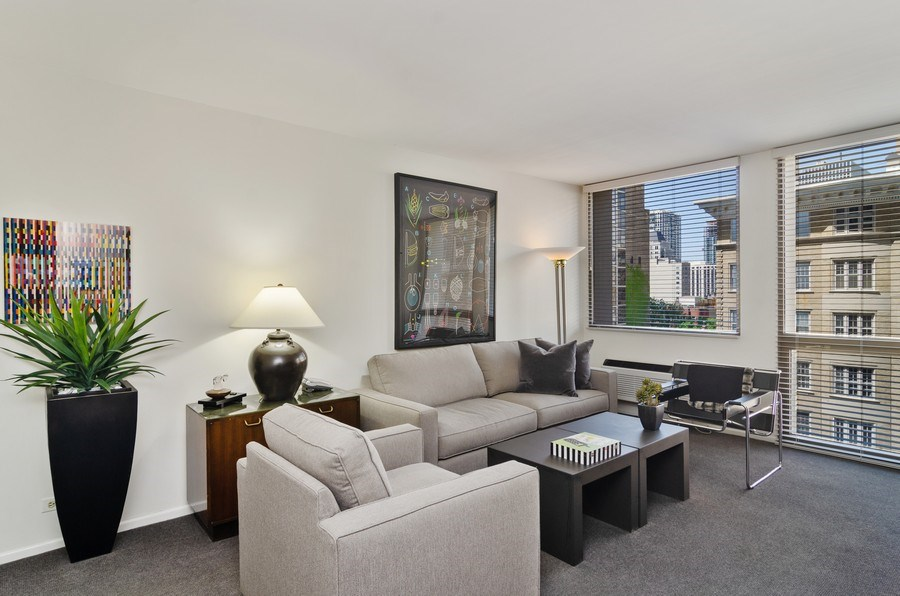 Real Estate Photography - 1240 N Lake Shore Drive, Unit 9B, Chicago, IL, 60610 - 3rd Bedroom