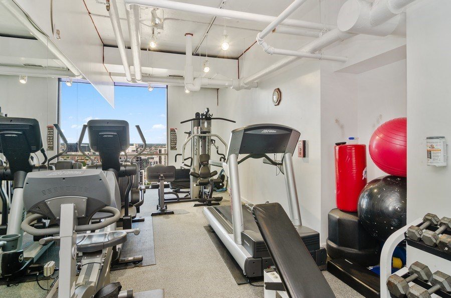 Real Estate Photography - 1240 N Lake Shore Drive, Unit 9B, Chicago, IL, 60610 - Fitness Center
