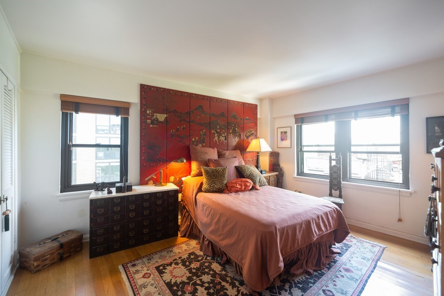 Real Estate Photography - 1350 N. Astor St., #6A, Chicago, IL, 60610 - Master Bedroom