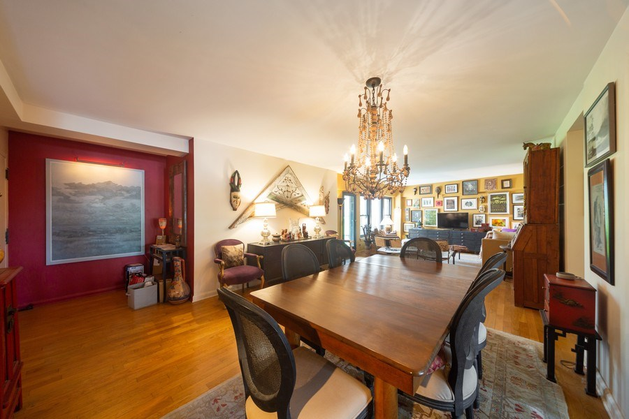 Real Estate Photography - 1350 N. Astor St., #6A, Chicago, IL, 60610 - Dining Area