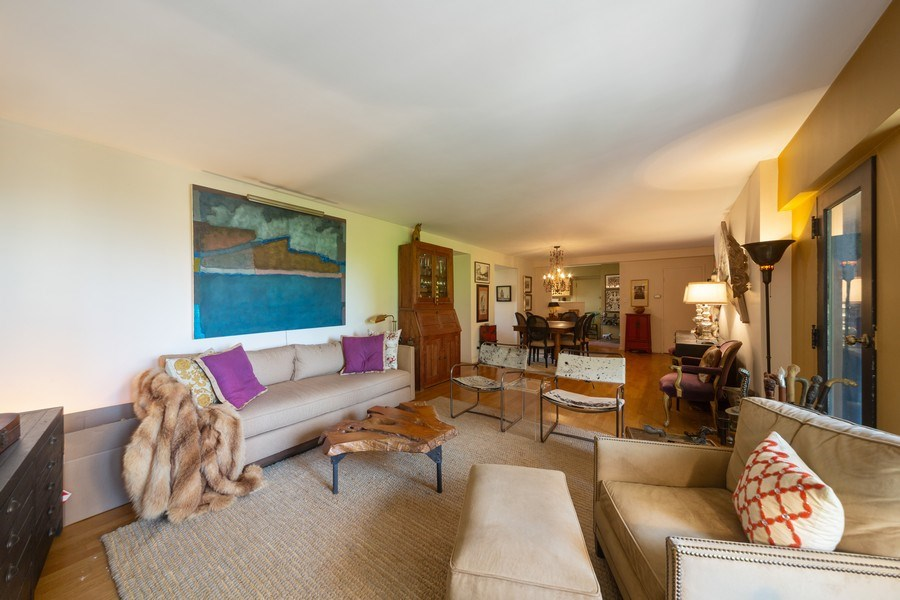 Real Estate Photography - 1350 N. Astor St., #6A, Chicago, IL, 60610 - Living Room / Dining Room