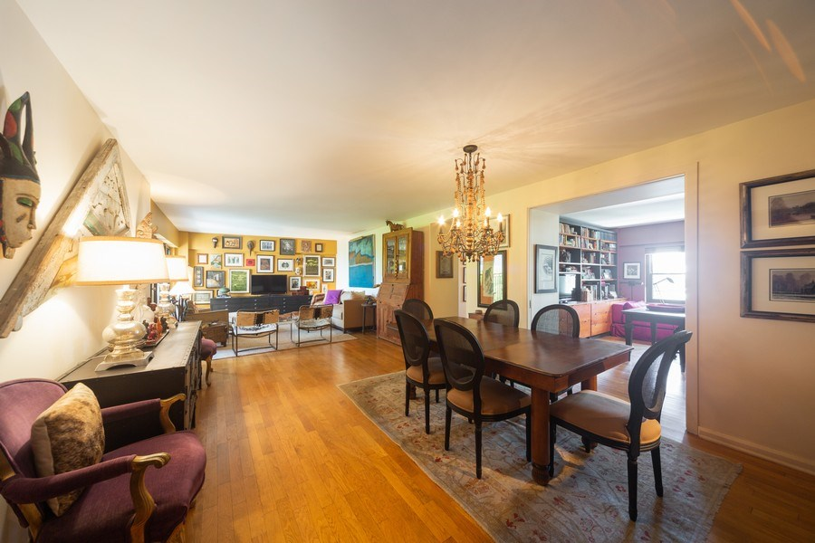 Real Estate Photography - 1350 N. Astor St., #6A, Chicago, IL, 60610 - Family Room / Dining Room