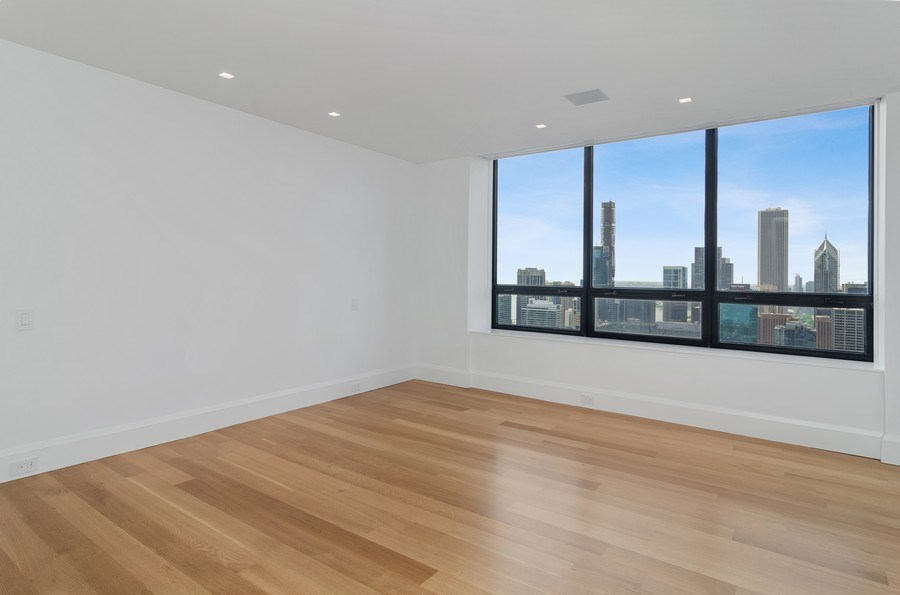 Real Estate Photography - 180 E Pearson St, 5207, Chicago, IL, 60611 - Master Bedroom