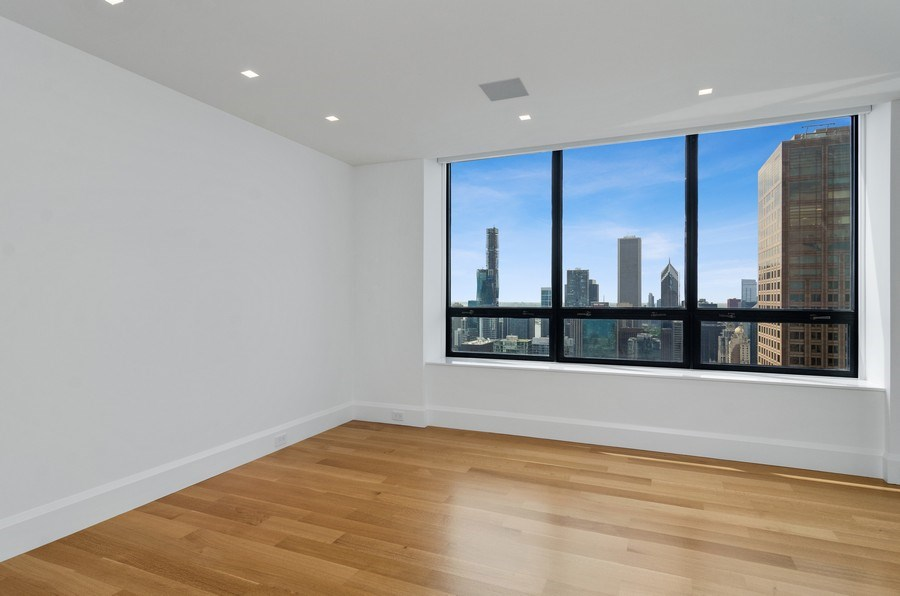 Real Estate Photography - 180 E Pearson St, 5207, Chicago, IL, 60611 - 2nd Bedroom
