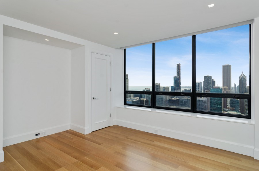 Real Estate Photography - 180 E Pearson St, 5207, Chicago, IL, 60611 - 3rd Bedroom