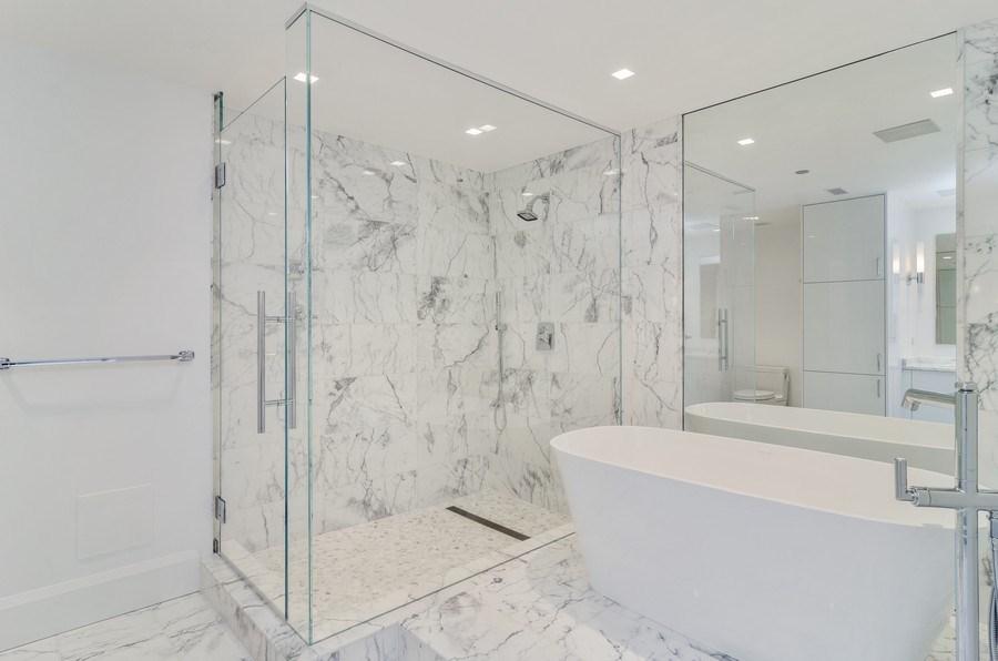 Real Estate Photography - 180 E Pearson St, 5207, Chicago, IL, 60611 - Master Bathroom