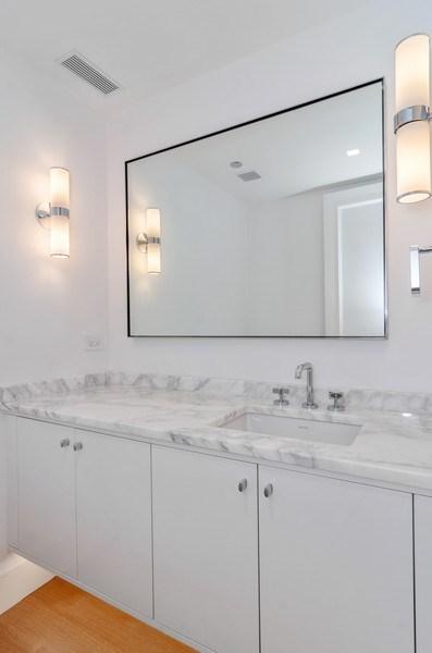 Real Estate Photography - 180 E Pearson St, 5207, Chicago, IL, 60611 - Powder Room