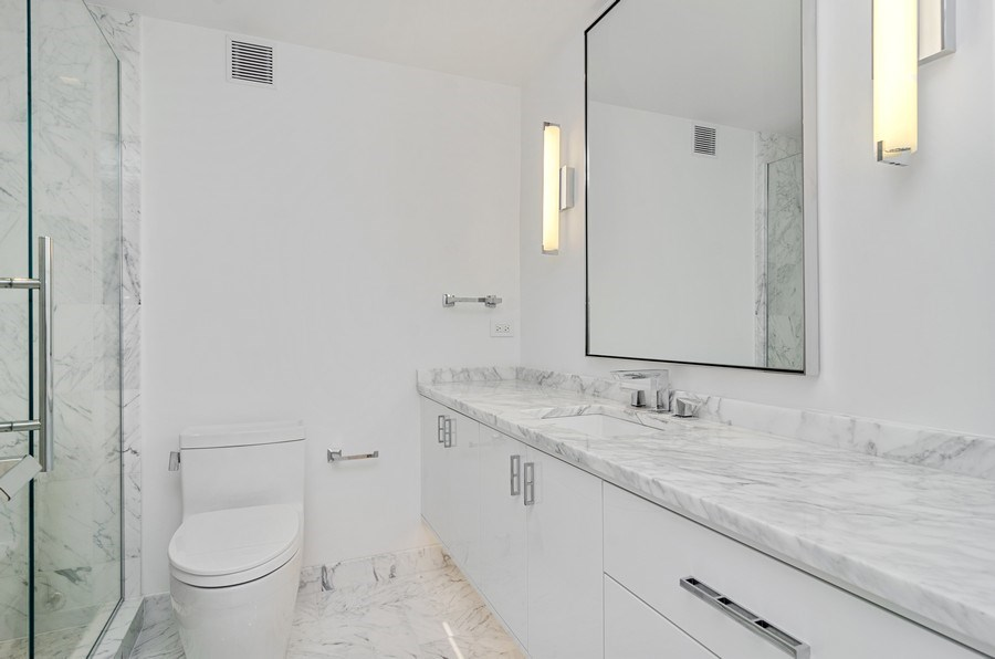 Real Estate Photography - 180 E Pearson St, 5207, Chicago, IL, 60611 - Bathroom