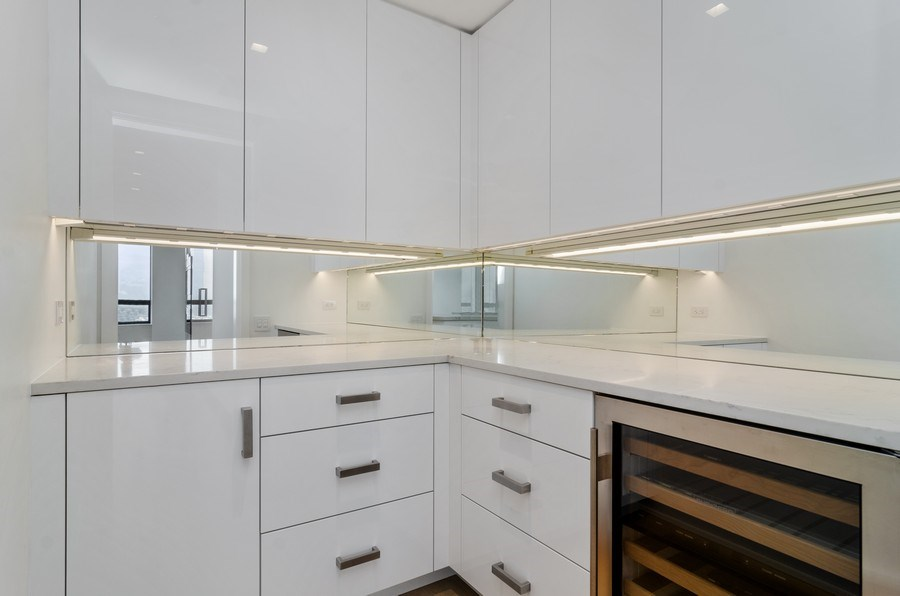 Real Estate Photography - 180 E Pearson St, 5207, Chicago, IL, 60611 - Pantry