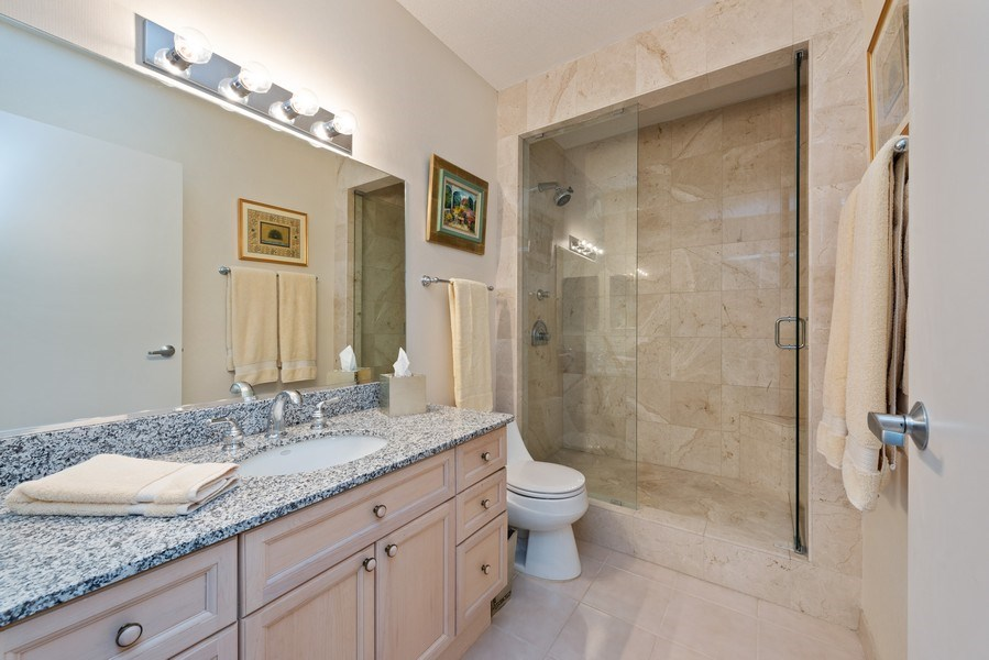 Real Estate Photography - 512 N MCclurg Ct, 3807-08, Chicago, IL, 60611 - Master Bathroom