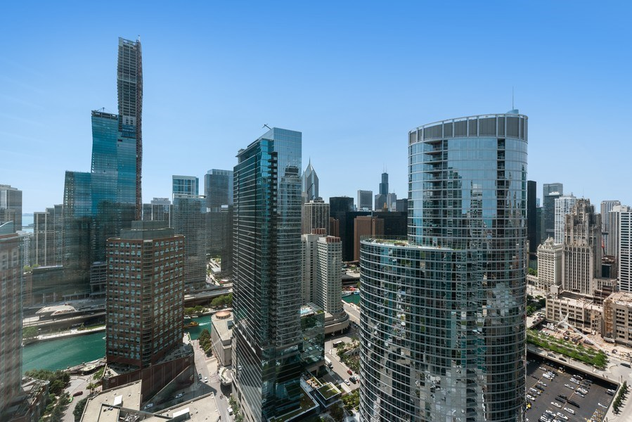 Real Estate Photography - 512 N MCclurg Ct, 3807-08, Chicago, IL, 60611 - View