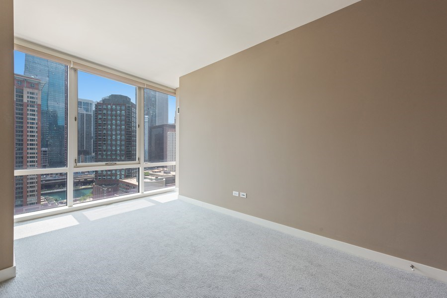Real Estate Photography - 512 N MCclurg Ct, 3807-08, Chicago, IL, 60611 - Bedroom