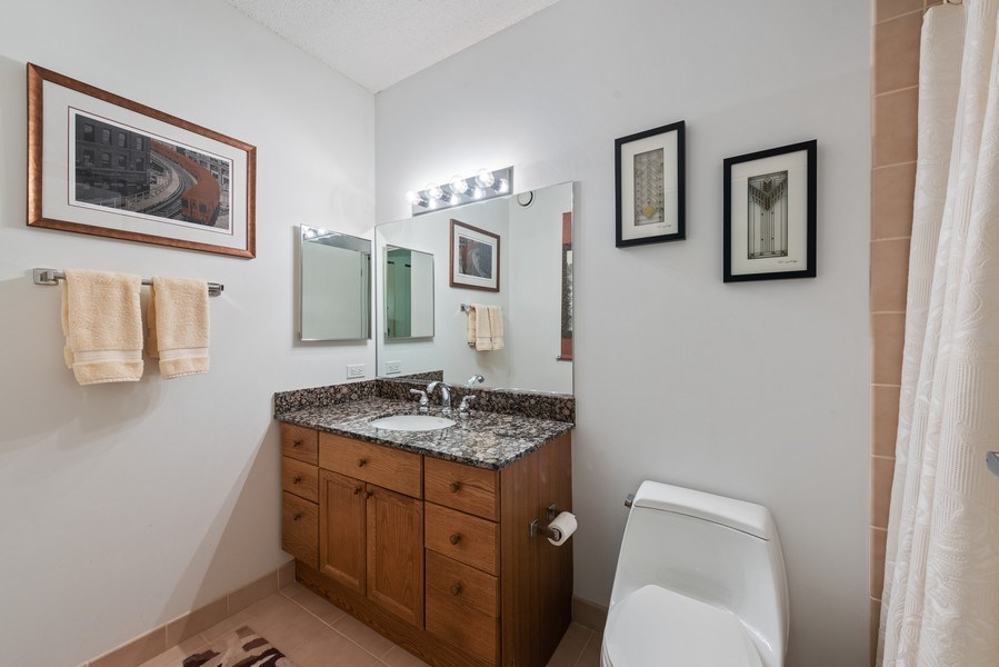 Real Estate Photography - 512 N MCclurg Ct, 3807-08, Chicago, IL, 60611 - Bathroom