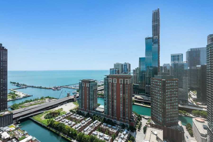 Real Estate Photography - 512 N MCclurg Ct, 3807-08, Chicago, IL, 60611 - Lake View