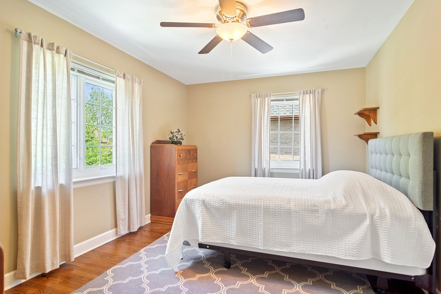 Real Estate Photography - 737 N Elmore, Park Ridge, IL, 60068 - 2nd Bedroom