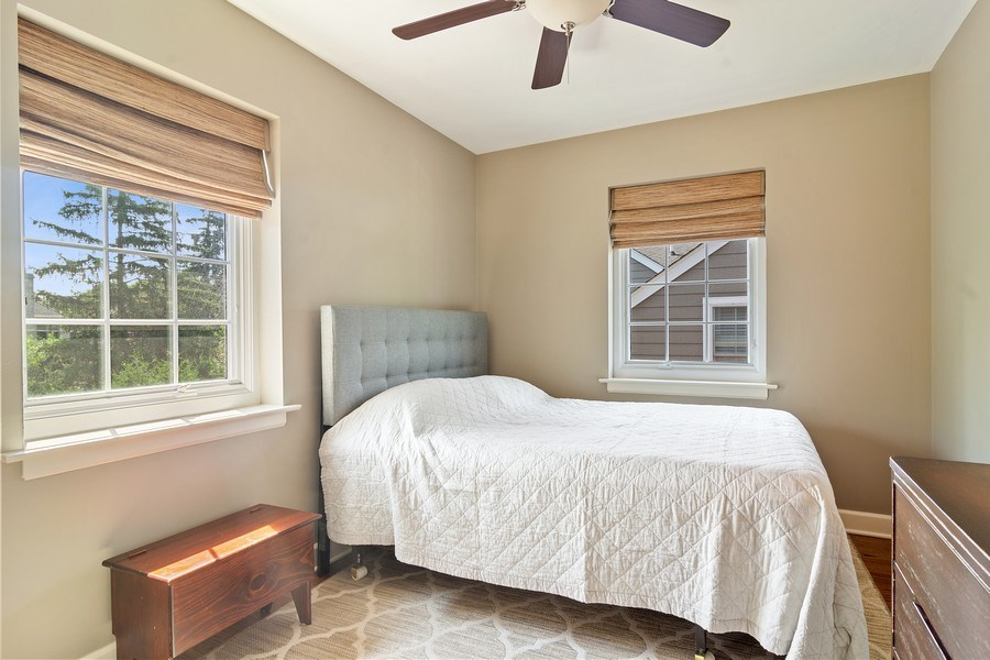 Real Estate Photography - 737 N Elmore, Park Ridge, IL, 60068 - 3rd Bedroom