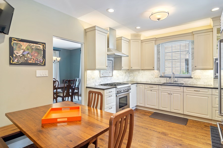 Real Estate Photography - 737 N Elmore, Park Ridge, IL, 60068 - Kitchen / Breakfast Room