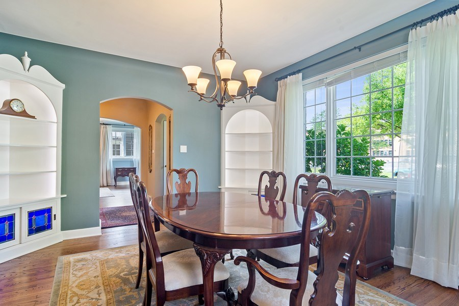 Real Estate Photography - 737 N Elmore, Park Ridge, IL, 60068 - Dining Room