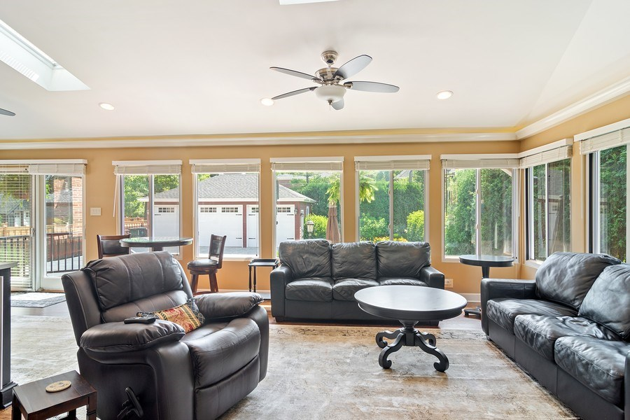 Real Estate Photography - 737 N Elmore, Park Ridge, IL, 60068 - Family Room