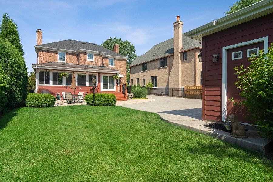 Real Estate Photography - 737 N Elmore, Park Ridge, IL, 60068 - Rear View