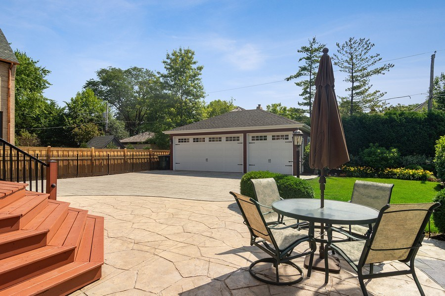 Real Estate Photography - 737 N Elmore, Park Ridge, IL, 60068 - Patio