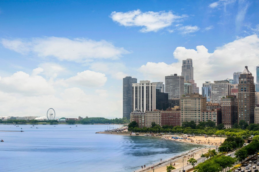 Real Estate Photography - 1430 N Lakeshore Dr, Apt 10, Chicago, IL, 60610 - City View