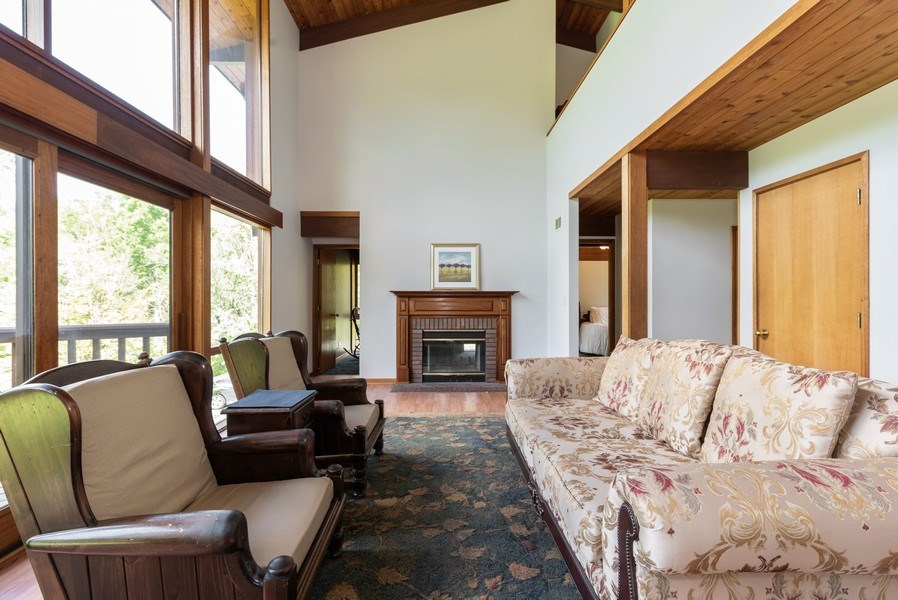Real Estate Photography - 10711 Bull Valley Road, Bull Valley, IL, 60098 - Living Room