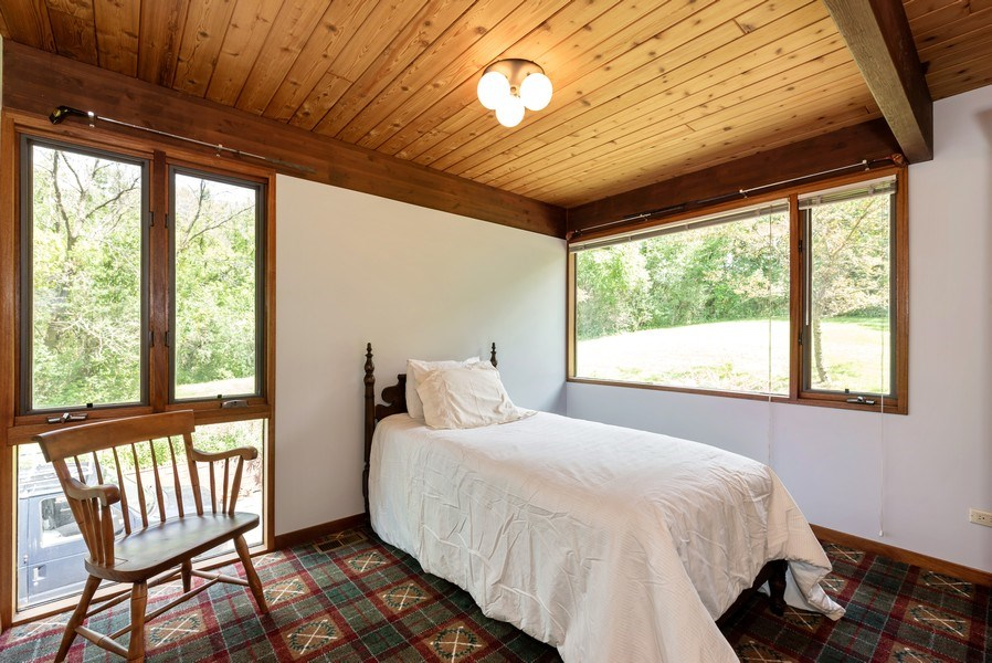 Real Estate Photography - 10711 Bull Valley Road, Bull Valley, IL, 60098 - Guest Bedroom