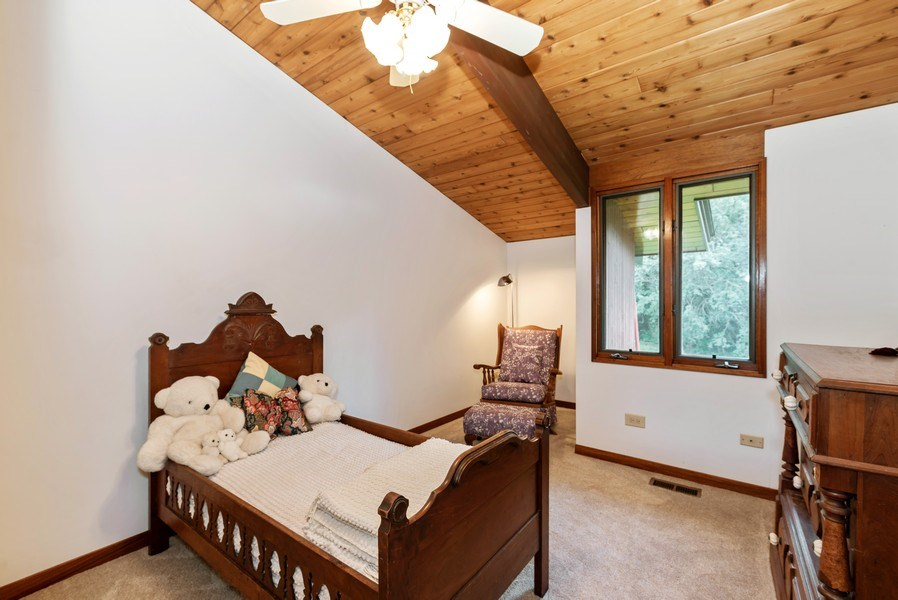 Real Estate Photography - 10711 Bull Valley Road, Bull Valley, IL, 60098 - 2nd Bedroom