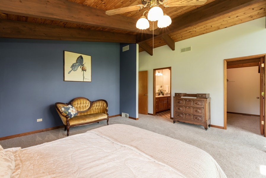 Real Estate Photography - 10711 Bull Valley Road, Bull Valley, IL, 60098 - Master Bedroom