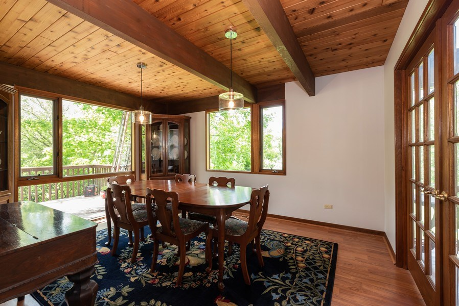 Real Estate Photography - 10711 Bull Valley Road, Bull Valley, IL, 60098 - Dining Room