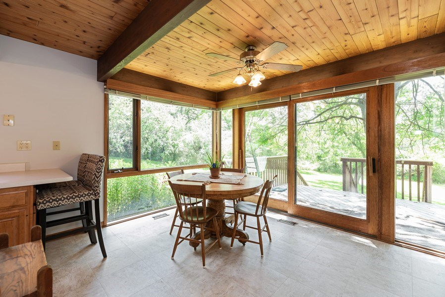 Real Estate Photography - 10711 Bull Valley Road, Bull Valley, IL, 60098 - Dining Area