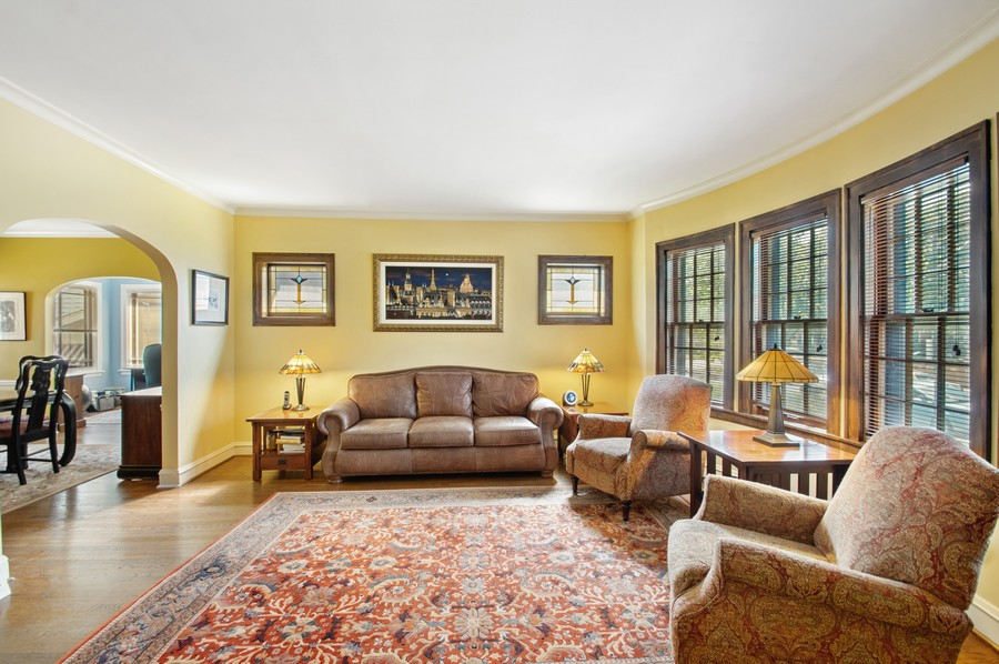 Real Estate Photography - 7756 W North Shore Ave, Chicago, IL, 60631 - Living Room