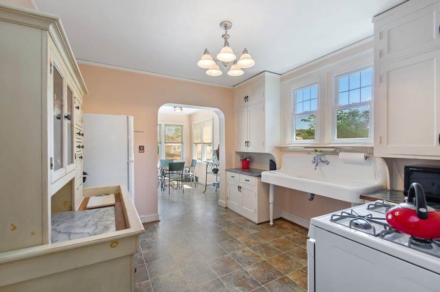 Real Estate Photography - 7756 W North Shore Ave, Chicago, IL, 60631 - Kitchen / Breakfast Room