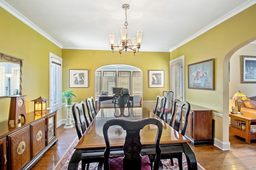 Real Estate Photography - 7756 W North Shore Ave, Chicago, IL, 60631 - Dining Room