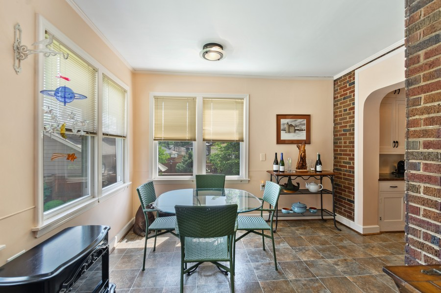 Real Estate Photography - 7756 W North Shore Ave, Chicago, IL, 60631 - Breakfast Room