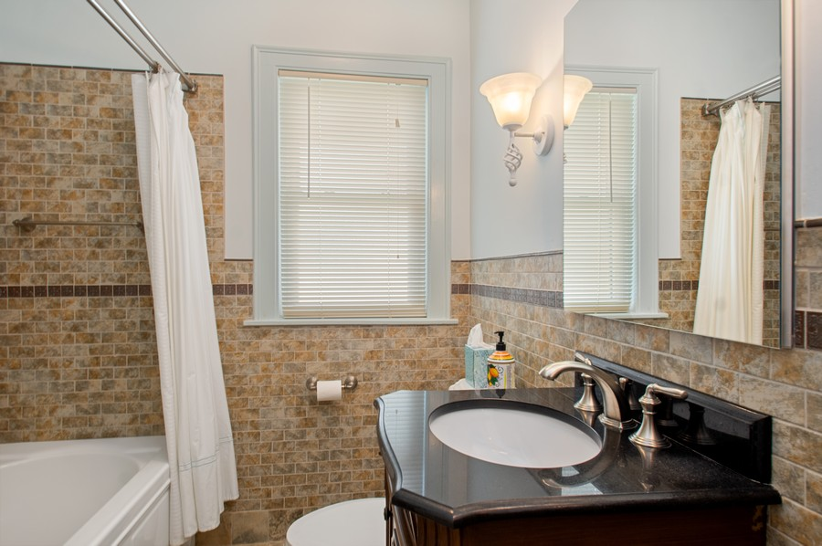 Real Estate Photography - 7756 W North Shore Ave, Chicago, IL, 60631 - Bathroom