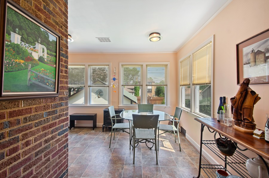 Real Estate Photography - 7756 W North Shore Ave, Chicago, IL, 60631 - Breakfast Nook