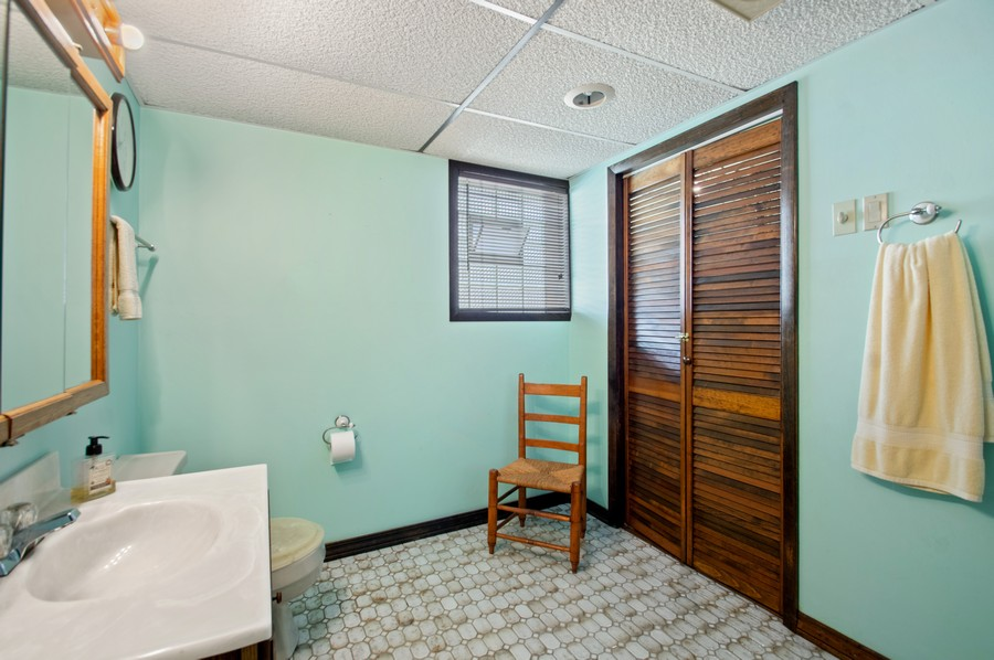 Real Estate Photography - 7756 W North Shore Ave, Chicago, IL, 60631 - 2nd Bathroom