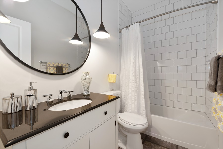 Real Estate Photography - 3243 N Kenneth Ave, Chicago, IL, 60641 - 3rd Bathroom