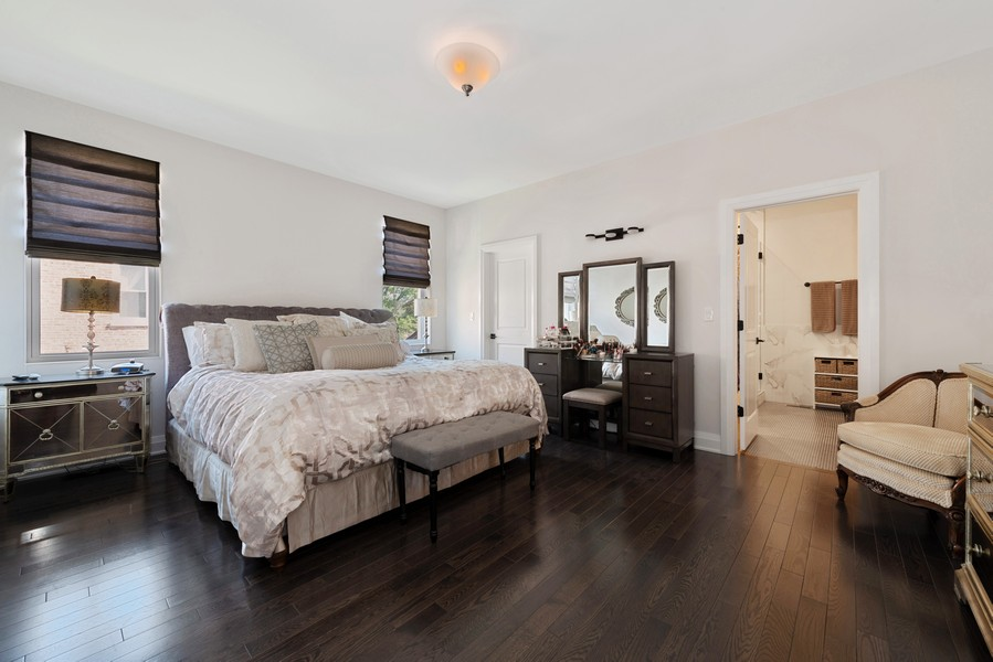 Real Estate Photography - 3243 N Kenneth Ave, Chicago, IL, 60641 - Master Bedroom