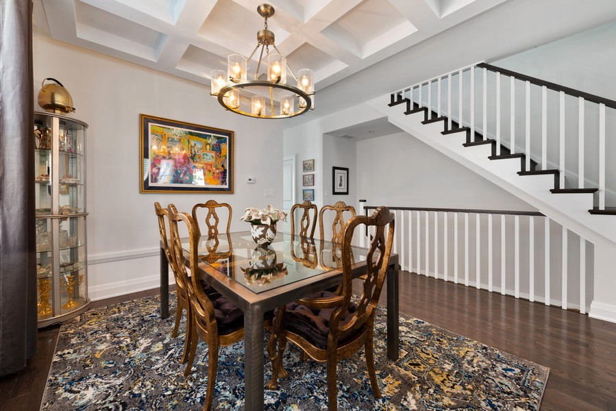 Real Estate Photography - 3243 N Kenneth Ave, Chicago, IL, 60641 - Dining Room